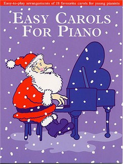 Easy Carols For Piano Books | Piano, Vocal & Guitar (with Chord Symbols)