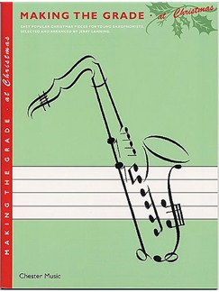 Making The Grade: At Christmas (Saxophone) Books and CDs | Saxophone, Piano