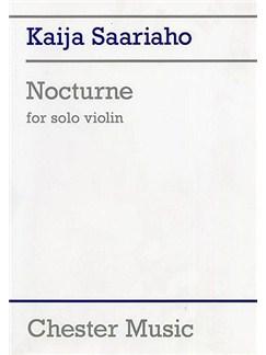 Kaija Saariaho: Nocturne Books | Violin