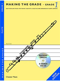 Making The Grade: Grade One - Revised Edition (Flute) CD et Livre | Flûte Traversière, Accompagnement Piano