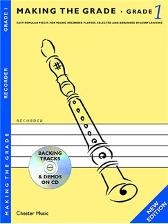 Making The Grade: Grade One - Revised Edition (Recorder) Books and CDs | Recorder, Piano