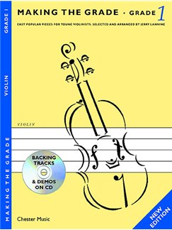 Making The Grade: Grade One - Revised Edition (Violin) Books and CDs | Violin, Piano