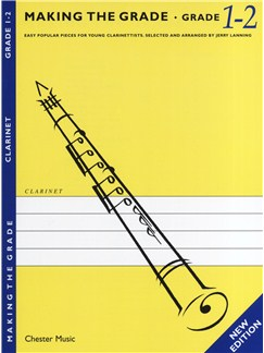 Making The Grade: Grade One And Two - Revised Edition (Clarinet) Livre | Clarinette, Accompagnement Piano