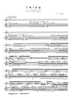 Rolf Wallin: Twine Books | Xylophone, Marimba