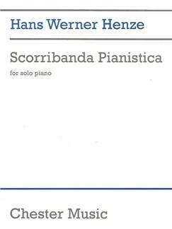 Hans Werner Henze: Scorribanda Pianistica (Piano Solo) Books | Piano