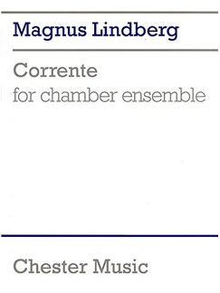 Magnus Lindberg: Corrente (Score) Books | Chamber Group