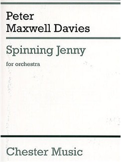 Peter Maxwell Davies: Spinning Jenny (Miniature Score) Books | Orchestra