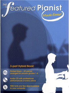 The Featured Pianist Made Easy! Books and CDs | Piano