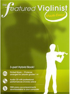 The Featured Violinist Made Easy! Books and CDs | Violin