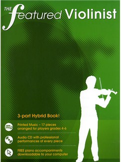 The Featured Violinist Books and CDs | Violin