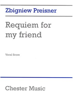 Preisner: Requiem For My Friend (Vocal Score) Books | SATB, Organ Accompaniment