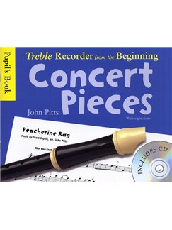 Treble Recorder From The Beginning - Concert Pieces (Pupil's Book - CD Edition) Books and CDs | Treble Recorder