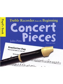 Treble Recorder From The Beginning - Concert Pieces (Pupil's Book) Books | Treble Recorder