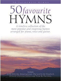 50 Favourite Hymns Books | Piano, Vocal & Guitar (with Chord Boxes)