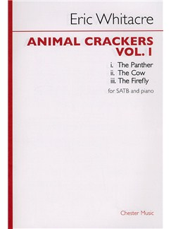 Eric Whitacre: Animal Crackers - Volume 1 Livre | SATB, Accompagnement Piano