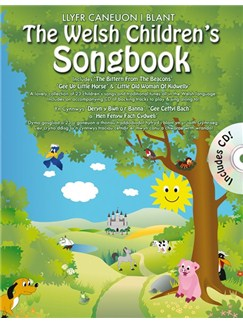 The Welsh Children's Songbook (Book & CD) Books and CDs | Piano, Voice