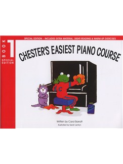 Chester's Easiest Piano Course - Book 1 (Special Edition) Books | Piano