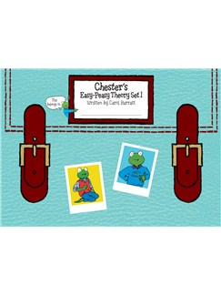 Chester's Easy-Peasy Theory Set 1 Books |