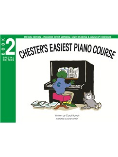 Chester's Easiest Piano Course: Book 2 - Special Edition Books | Piano