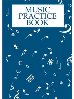 Music Practice Book Books | All Instruments