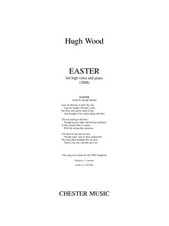 Hugh Wood: Easter - High Voice/Piano Books | High Voice, Piano Accompaniment