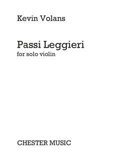Kevin Volans: Passi Leggieri Books | Violin