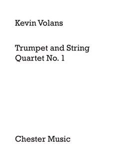 Kevin Volans: Trumpet and String Quartet No.1 (Score) Books | Trumpet, String Quartet