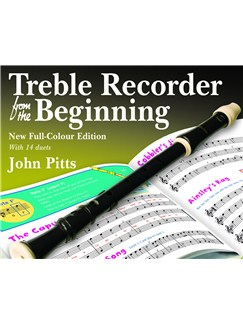 John Pitts: Treble Recorder From The Beginning - Pupil Book (Revised Full-Colour Edition) Books | Alto (Treble) Recorder