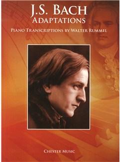 J.S. Bach Adaptations: Piano Transcriptions By Walter Rummel Books | Piano