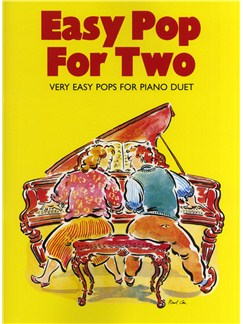 Easy Pop For Two: Very Easy Pops For Piano Duet Livre | Piano Duo