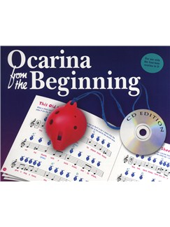 Ocarina From The Beginning - CD Edition Books and CDs | Ocarina