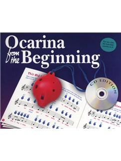 Ocarina From The Beginning - CD Edition Books and CDs | Ocarina