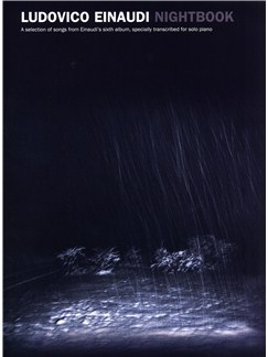 Ludovico Einaudi: Nightbook Books | Piano