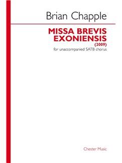 Brian Chapple: Missa Brevis Exoniensis Livre | SATB