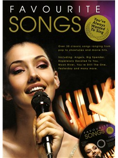Favourite Songs You've Always Wanted To Sing - CD Edition Buch und CD | Klavier, Gesang & Gitarre (mit Akkordsymbolen)