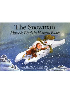 The Snowman easy piano picture book image