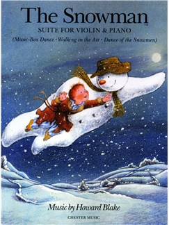 Howard Blake: The Snowman Suite (Violin/Piano) Books | Violin, Piano Accompaniment