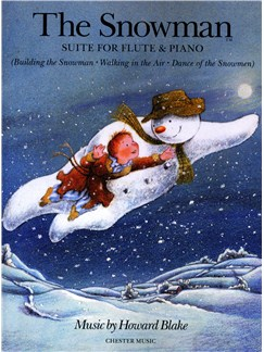 Howard Blake: The Snowman Suite - Flute/Piano Books | Flute, Piano Accompaniment