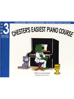 Carol Barratt: Chester's Easiest Piano Course - Book 3 (Special Edition) Books | Piano