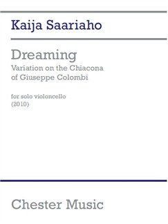 Dreaming: Variation On The Chiacona Of Giuseppe Colombi Books | Cello