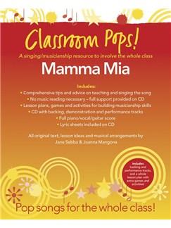 Classroom Pops! Mamma Mia Books and CDs | Piano, Vocal & Guitar