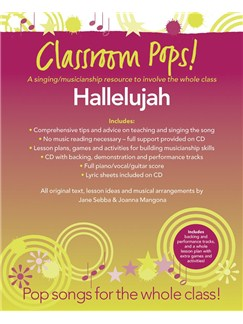 Classroom Pops! Hallelujah Books and CDs | Piano, Vocal & Guitar