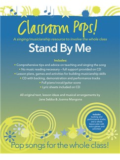 Classroom Pops! Stand By Me Books and CDs | Piano, Vocal & Guitar