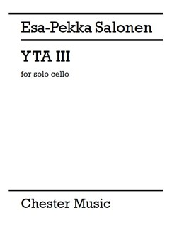 Esa-Pekka Salonen: YTA III Books | Cello