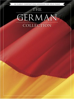 The German Collection - 45 Classic Compositions Arranged For Piano Solo Books | Piano