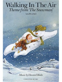 Howard Blake: Walking In The Air (The Snowman) SA/Piano Livre | Choeur En 2-Parties, Accompagnement Piano