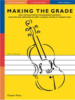 Making The Grade: Grades 1-3 (Violin) Books | Violin, Piano Accompaniment