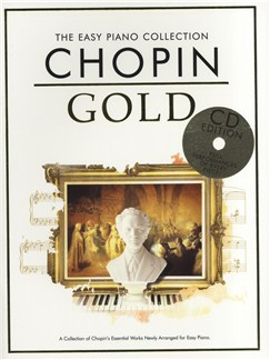 The Easy Piano Collection: Chopin Gold (CD Edition) Books and CDs | Piano