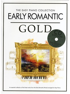 The Easy Piano Collection: Early Romantic Gold CD et Livre | Piano