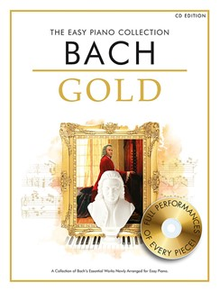 The Easy Piano Collection: Bach Gold (CD Edition) Books and CDs | Piano